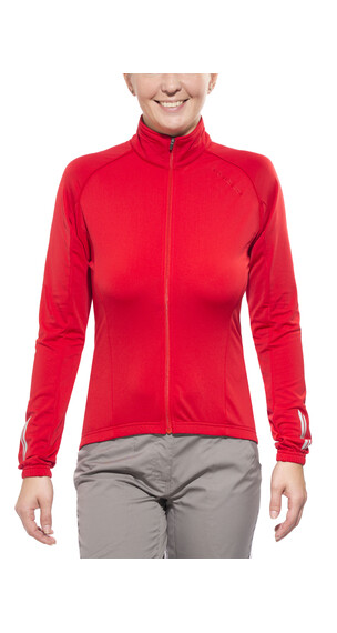 Endura Roubaix jersey lange mouwen Dames rood